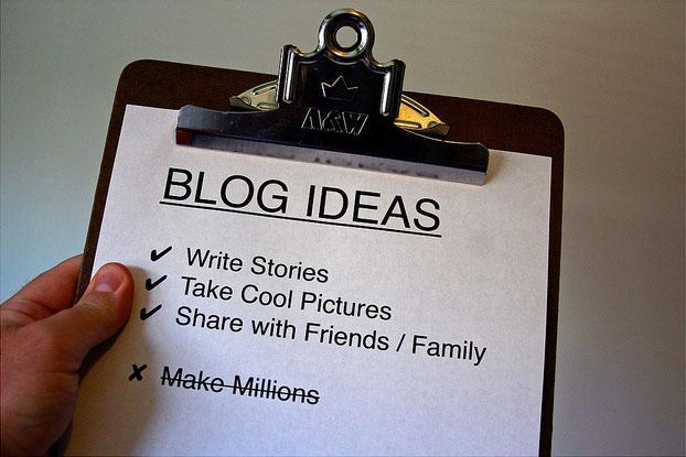 רעיונות לבלוגים