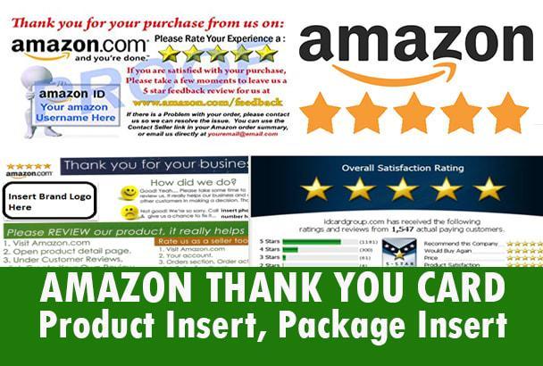 3 רעיונות מפגרים ל PACKAGE INSERT למוצר שלכם באמזון שיגרמו לכם להשיג את כל מה שתבקשו מהלקוחות שלכם.